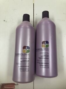 SAME DAY SHIP! Pureology- Hydrate Shampoo and Conditioner 33.8oz Each