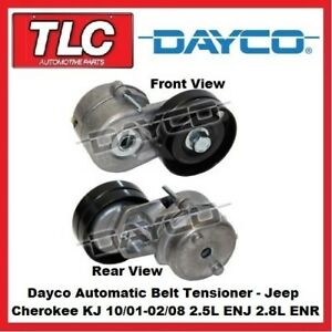 Dayco Automatic Belt Tensioner - Jeep Cherokee KJ ENJ ENR 2.5L 2.8L Diesel