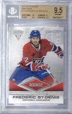 BGS 9.5 2011/12 Panini Titanium SPECTRUM Frederic St-Denis RC Canadiens 56/100