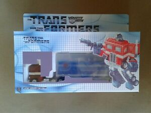 Transformers G1 Ghost Clear Optimus Prime with Custom Box!!!
