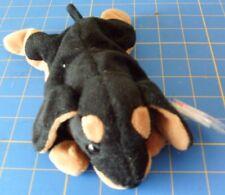 Ty Doby the Doberman Dog Beanie Baby - Dob October 9, 1996 - Retired