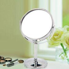 Espejos de maquillaje espejo de pie de plata
