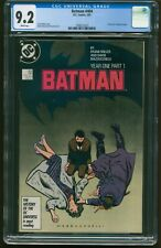 Batman # 404 -407 YEAR ONE SET CGC-GRADED 9.2 - 9.6 WHITE PAGES ITEMS:G-496-499
