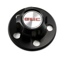 NEW 1985-1995 GMC SAFARI VAN BLACK STEEL WHEEL HUB CENTER CAP OEM GM 15594372