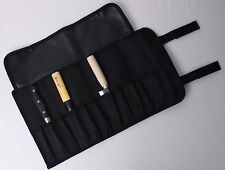 """11-Pocket 17"""" Portable Knife Carry Case Small Pouch Bag Folded Craft Knives Tool"""