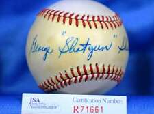 GEORGE SHUBA JSA CERT HAND SIGNeD NATIONAL LEAGUE AUTOGRAPH BASEBALL