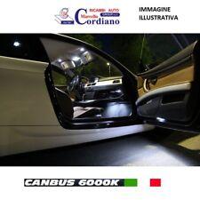 KIT LED INTERNI BMW SERIE 1 F20 PLAFONIERA ANT + POST 6000K CANBUS