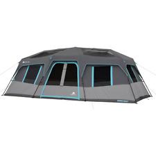 Ozark Trail 20 X 10 Dark Rest Instant Cabin Tent Sleeps 12