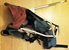 Tough Traveler Child Baby Carrier Hiking Backpack with rain hood- Made in USA