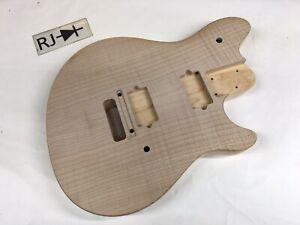 Peavey USA Wolfgang Flame Top Electric Guitar Body Maple Van Halen