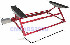 Mini Tilting Car Lift - Chassis Tilter - Ramp Roller - Red - New & Boxed