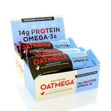 OATMEGA Chocolate Coconut Crisp Grass-Fed Omega-3 Whey Protein Bar - 12 BARS