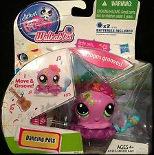 Littlest Pet Shop Walkables Dancing Mexican Grooving  Octopus 2715 New