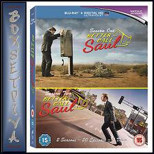 BETTER CALL SAUL - COMPLETE SEASONS 1 & 2 BOXSET  **BRAND NEW BLURAY**