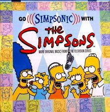 Go Simpsonic With - The Simpsons   - CD, VG