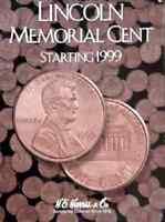 Lincoln Memorial Cent Coin Folder Album #2, 1999-2008 by H.E. Harris