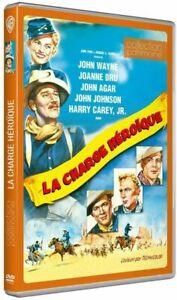 DVD - LA CHARGE HEROÏQUE / JOHN FORD, JOHN WAYNE, JOANNE DRU, WARNER, NEUF