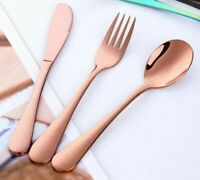 Stainless Steel Children's Tableware Dinner Fork Set Cutlery Kitchen Accessories