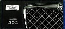 2010 Chrysler 300 Touting 300 Limited 300C SRT8 Dealer Sales Brochure