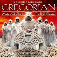 GREGORIAN - MASTERS OF CHANT X-THE FINAL CHAPTER(TOUR-EDITION) 2 CD NEW