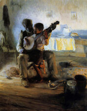 Tanner Herny Ossawa The Banjo Lesson Print 11 x 14     #4106
