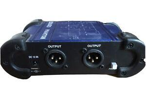 eStudio Dual Phantom Power Box
