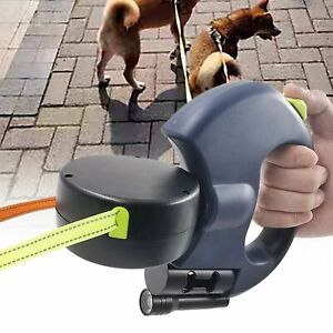 The Adjustable Dual Double Pet Leash Rope Zero Tangle For Two Dog Walk  2 Color