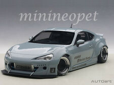 AUTOart 78759 ROCKET BUNNY TOYOTA 86 1/18 CONCRETE GREY with BLACK WHEELS