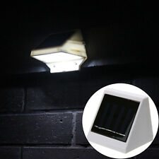 4 LED Outdoor Solar Powered Light  Waterproof  Stairs Fence Garden Security Lamp