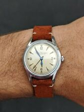 Vintage Girard Perregaux Gyromatic Men's Wristwatch All Stainless 17J Cal. 47ae