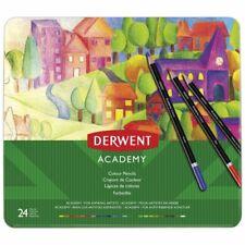 Derwent Academy Tin of 24 Colour Pencils 2301938 5028252269872