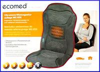 Ecomed MEDISANA Vibrations Massagesitzauflage MC 85E Massagesitz Massagematte