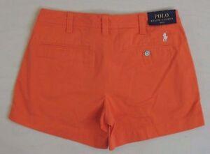 $89.5 Polo Ralph Lauren Pony Logo Twill Chino Beach Golf Mini Shorts 2 4 6 8 10