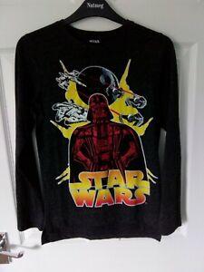 Next Boys Star Wars long sleeve T-shirt Age10 / 11 Brand new