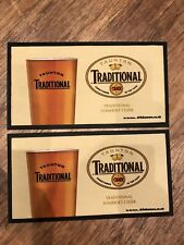2x Tauntons Traditional Cider Bar Runners Pub Shed Bar Man Cave