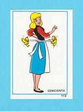 Cinderella 1976 Walt Disney Spanish Card