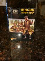 Warlord Games Bolt Action Polish Army Support Group NIB