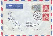 BRD Luftpost Ausland Brief : Tegernsee > Chile vom 31.08.1969