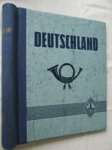 LIGHTHOUSE 'GERMANY' SPRINGBACK STAMP ALBUM, EXCELLENT CONDITION