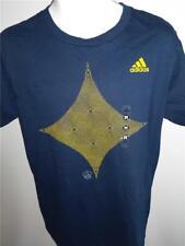 New Los Angeles LA Galaxy Mens Size M Medium Navy Adidas Shirt $22