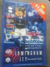 Birmingham City v Oldham Athletic, 1995-96