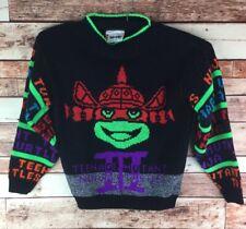 Rare Vintage HOT CASHEWS Ninja Turtles 1990 Movie Crewneck Sweater 90s Size S