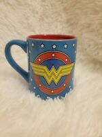 Wonder Woman Glitter 14 oz Coffee Mug DC Comics