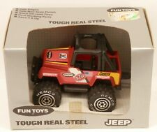 Remco Fun Toys Jeep 4x4 Off-Road Racer Style Truck Tough Real Steel in Box