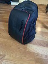 Wilson Roger Federer DNA Tennis Backpack Black WRZ-832896 Pro Staff