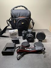 Canon EOS M50 Mark I w/ 15-45mm Lens, EF-M to EF Adaptor Mount and Other Extras