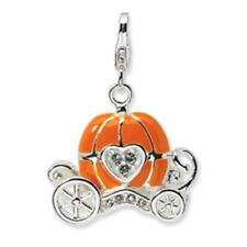 New Amore La Vita Sterling Silver 3-D Carriage Charm