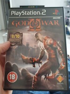 God Of War 2 II PS2 Game PlayStation Complete With Manual PAL - Fast & Free P&P