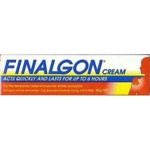 Finalgon Cream 50g - Temporary Relief of Muscular Aches