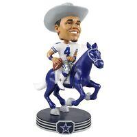 Dak Prescott Dallas Cowboys Riding Special Edition Bobblehead NFL